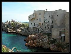 Bagheria : Aspra (Luciano ROMEO) Tags: houses sea panorama cliff costa coast mare barche case fjord sole palermo azzurro channel celeste scogli orizzonte porti pescatori aspra marinerie