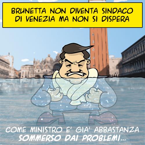 Brunetta sommerso