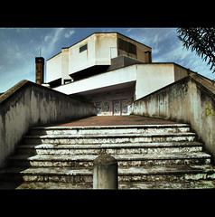 LITTLE ODESSA (Elena Fedeli) Tags: italy rome roma graffiti italia highcontrast tags supermarket cemento standa altocontrasto comeinunfilm likeinamovie canong10 likeinrussia comeinrussia