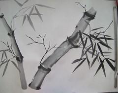 Bamboo and Ladybug