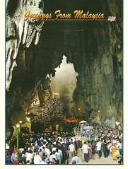 Greetings From Malaysia (projeksatudunia) Tags: postcard malaysia gombak batucaves poskad bogel telanjang melayuboleh babyrina