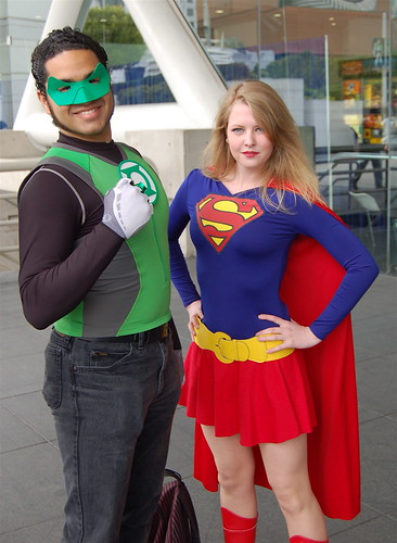 April 3: Wonder Con 2010 Green and Super