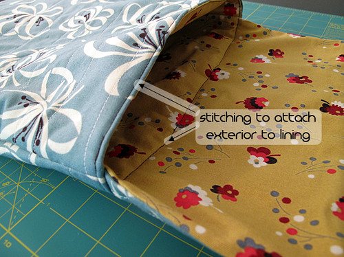 Laptop Sleeve Tutorial 10