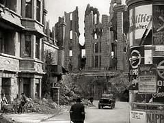 War-torn streets of Berlin