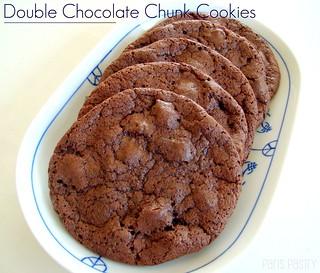 Double-Chocolate Chunk Cookies