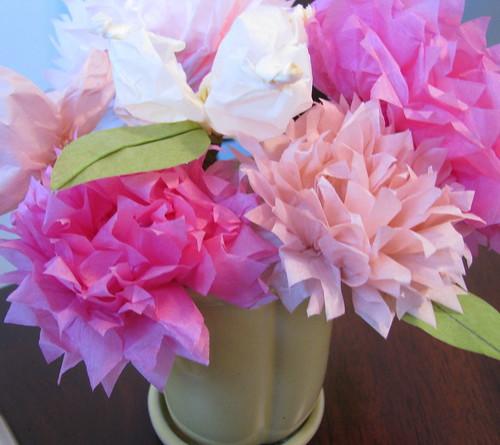 tissue paper flowers craft. Martha Stewart Tissue Paper
