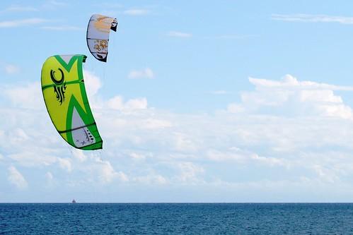 Kites en el Médano