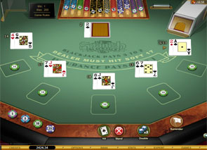 Spanish 21 Blackjack Gold