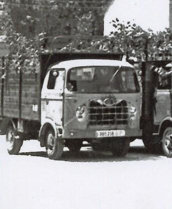Camionet Nazar de l'empresa TRANSPORTS COTXARRERA