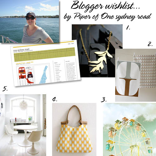 Blogger wishlist Piper