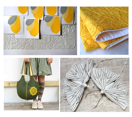 yellow etsy