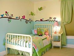 Decorao: Quarto Pssaros (Jessica Santin (Jehhhhh)) Tags: bird wall kids bedroom room decoration craft infantil owl paiting parede passaro pintura adesivo