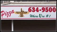 Where U're #1 (Will S.) Tags: signs ontario canada sign kingston pizzeria mypics syrian assyrian syriac assyrians 2forupizza