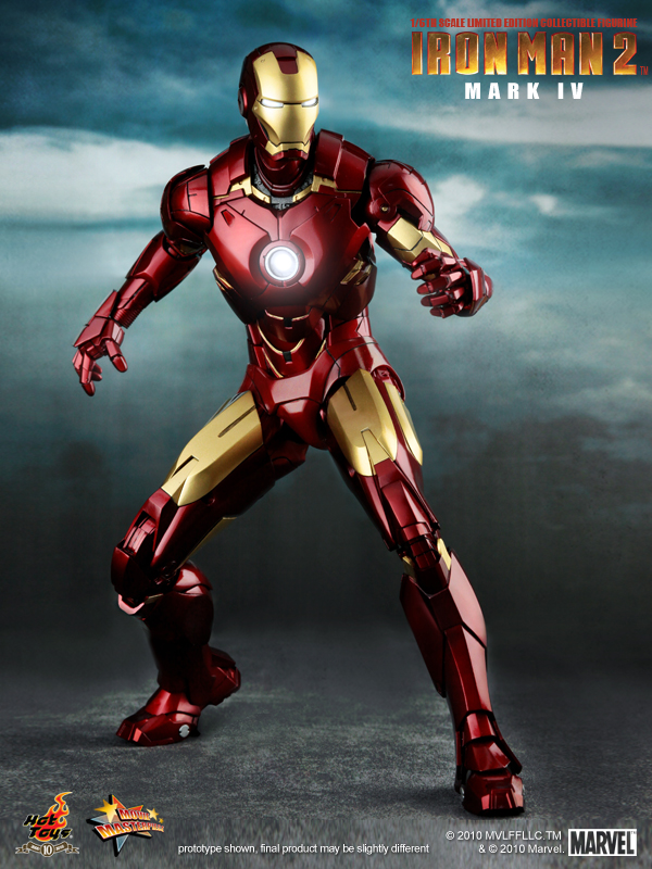 Iron Man 2 Mark IV hot Toys