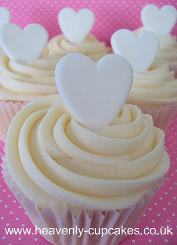 Love Heart Cupcakes-Nottingham