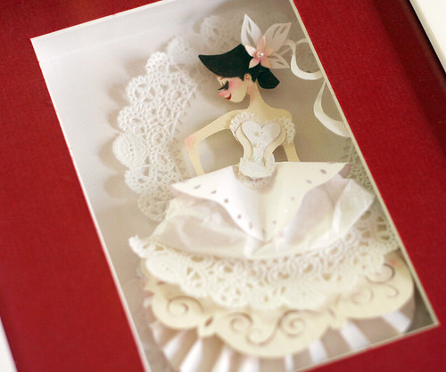 Papercut bride by Brittney Lee