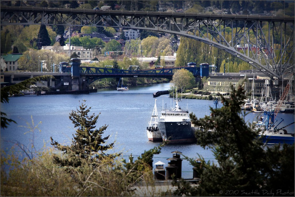 Sunday Bridge Series #3:  Fremont & Aurora Bridges