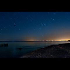 K20D0302. (Bob West) Tags: longexposure nightphotography ontario beach night lakeerie greatlakes nightshots startrails southwestontario bobwest k20d pentax1224