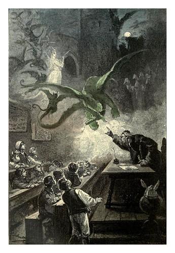 001-El castillo de los Carpatos1-Le chateau des Carpathes-Ilustraciones de Leon Benett