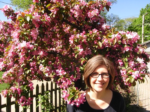 Ann & Crabapple Tree