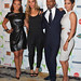 Singers Alicia Keys, Leona Lewis, actor Jamie Foxx and actress Halle Berry