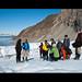 Sur le glacier du 14 juillet