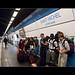 En transit dans le métro parisien
