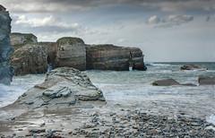 Ribadeo (martin zalba) Tags: sunset sea landscape atardecer mar paisaje lugo ribadeo