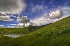 Storm Approaching Los Vaqueros (Matt Grans Photography) Tags: lake storm grass clouds nikon reservoir hills tokina eastbay diablo 1224mm hdr contracosta d90 losvaqueros tonemapped theunforgettablepictures tup2 therebeastormabrewin cloudsstormssunsetssunrises