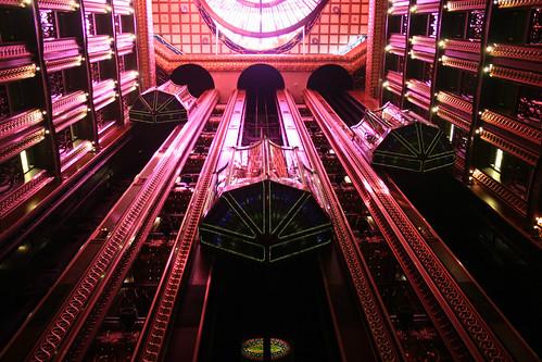 Carnival Spirit - Atrium Elevators Coming
