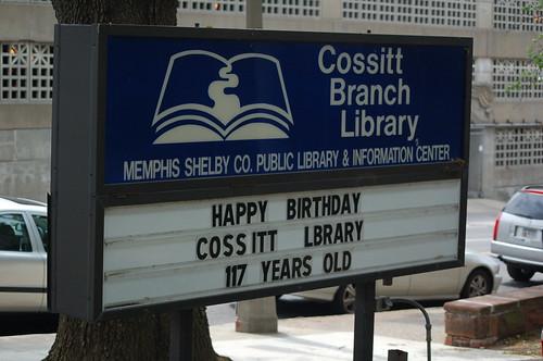Cossitt Public Library, Memphis, Tenn.