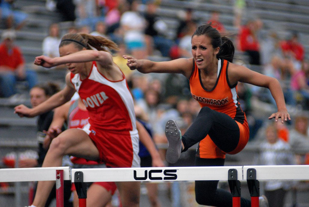 Track Meet Action