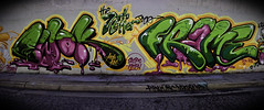 Ewok Frame (Ableleeskies) Tags: graffiti los angeles ewok frame letter msk graff seventh hm froggy ris dtk eklips tsl