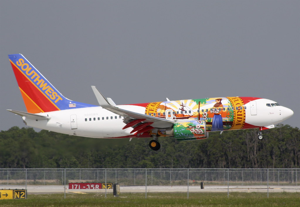 """Southwest Airlines 737-700 """"Florida One"""""""