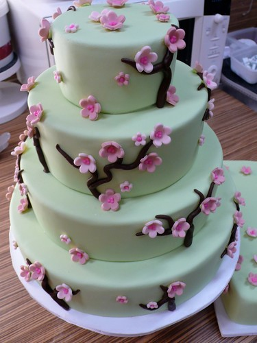 cherry blossom wedding cake photos flickriver cake amsterdam cakes by zobot s photos 12643