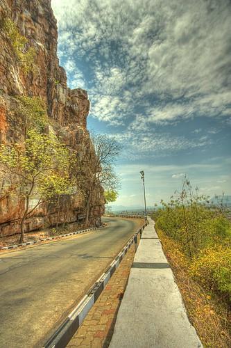 Tirupati Ghat Road by Arun Sundar