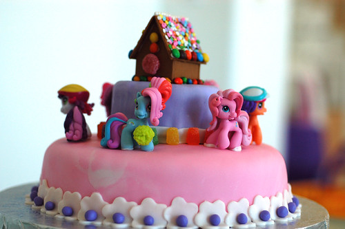 My Little Pony Cake - Back View 2