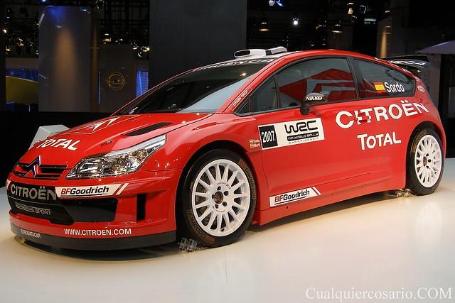 Citroën C4 WRC 2007 - Dani Sordo