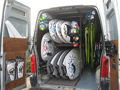 All the new windsurfing equipment