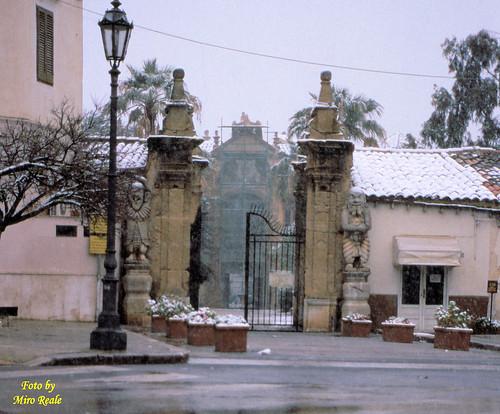 i pupi sotto la neve (Bagheria)