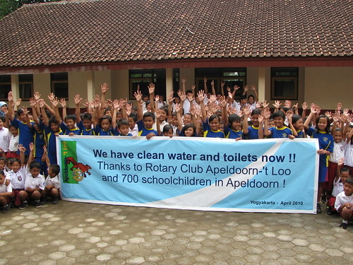RC Apeldoorn bringing clean water to Indonesia