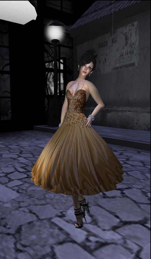 Sascha GG Gold Sequin