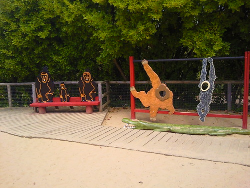 Play area at Durrell Jersey