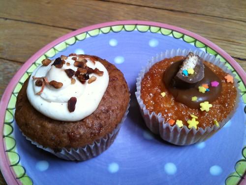Chloe.S Cupcakes (Carrot cake + Banana caramel)