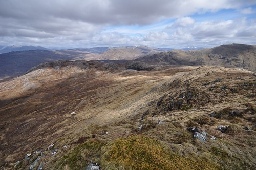 View over to Attadale from Ben Killilan