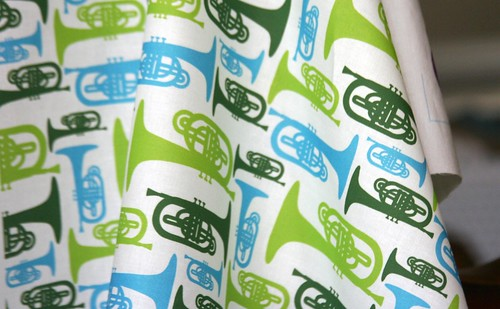 Fabric Of the Week Winner: Musical Instruments