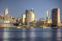 Melbourne city and Docklands