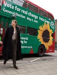 Caroline Lucas - Leader of UK Green Party and Member of European Parliament (DanVoglesong) Tags: carolinelucasmep sansogm gentechnikfrei gmofreeworld gefreeeurope ukgreenparty ukgeneralelectionon6may2010 firstenglishgreenmp