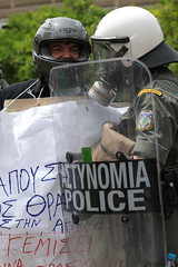 Athens Protests 05/05/2010