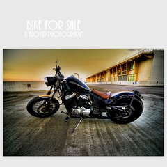 Joy Ride for Sale (klovir) Tags: sony tokina motorbike 17mm a850 hondaseed
